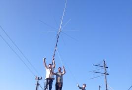 Установка новой антенны для репитера